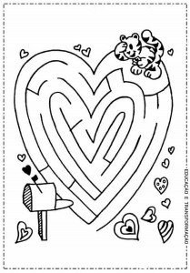 maze and labyrinth ımages child craft activity (1)