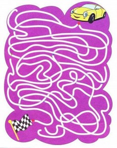maze and labyrinth ımages child craft activity (4)