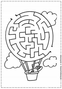 maze and labyrinth ımages child craft activity (7)