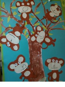 monkey bulletin board ideas