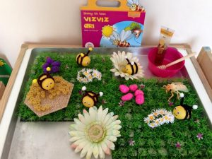 montessori inspired bee activities