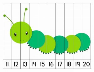number puzzles caterpillar (1)
