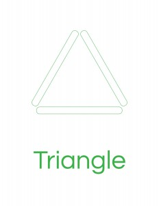popsicle stick triangle template