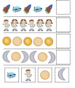 preschool space themed activities (9)