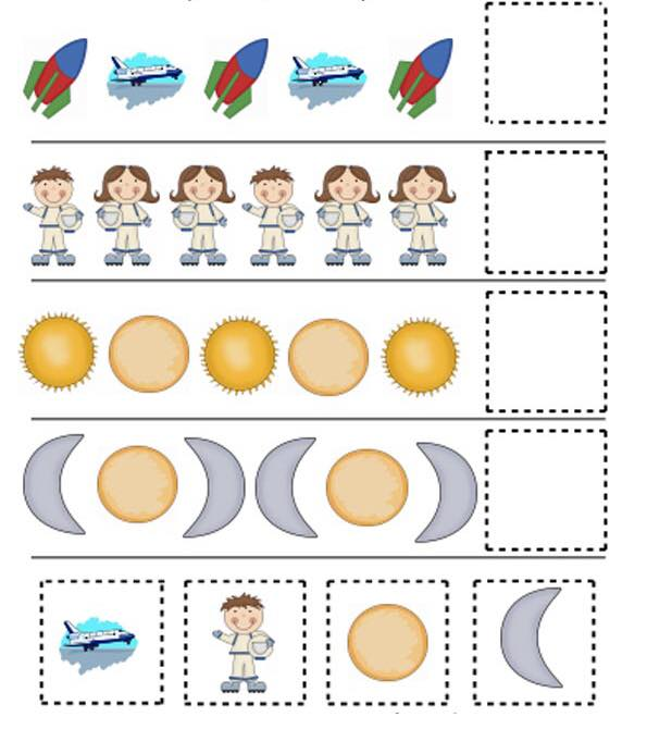 ... themed printables for kıds » preschool space themed activities (9