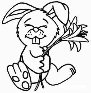 rabbit coloring pages (2)
