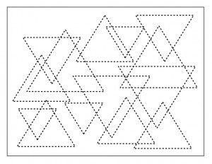 shapes activities triangle