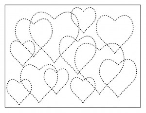 shapes heart activities