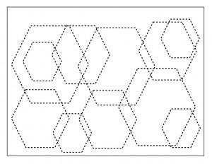 shapes hexagon activities