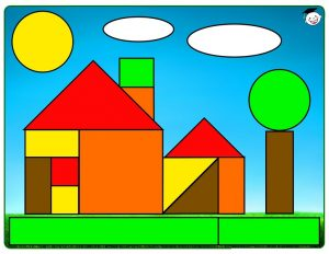 shapes home cut and paste free printables (1)