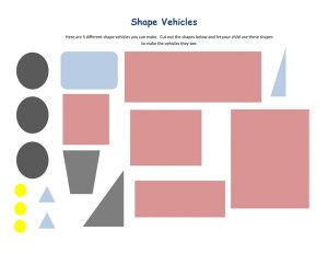 shapes vehicles