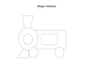 shapes vehicles train