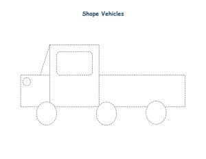 shapes vehicles truck