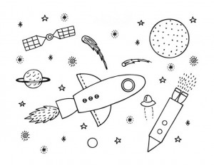 space coloring worksheets (13)