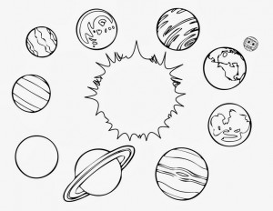 space coloring worksheets (4)