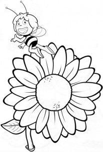 spring bee coloring pages (13)