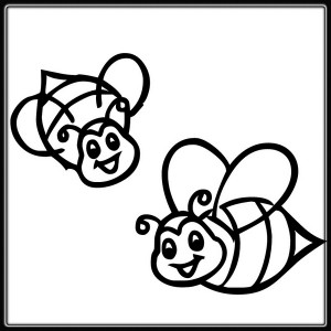 spring bee coloring pages (22)
