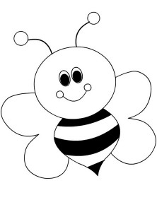 spring bee coloring pages (29)