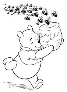 spring bee coloring pages (4)
