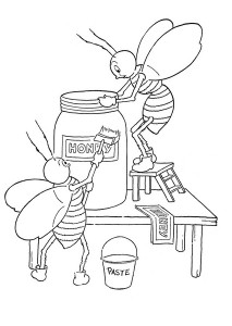 spring bee coloring pages (8)
