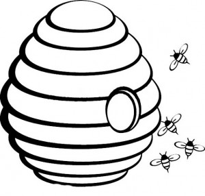 spring bee coloring pages (9)