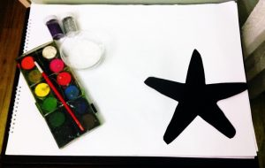 starfish painting activities