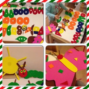 the very hungry caterpillar and ıts life cycle,