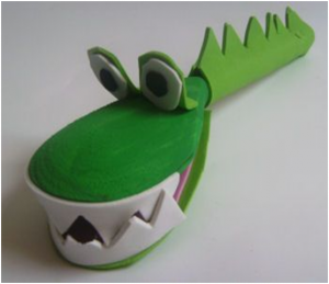 toddlers dragon craft  (2)