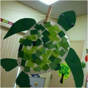 turtle crafts and learning activities for kids (1)