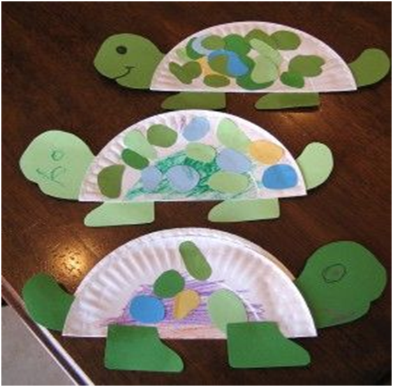 Turtle crafts and learning activities for kids 2 for Educational crafts for toddlers