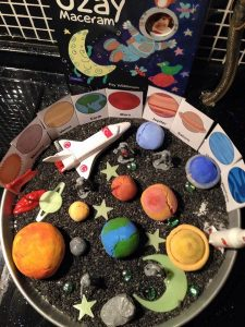 world space week activities for toddlers and preschooler