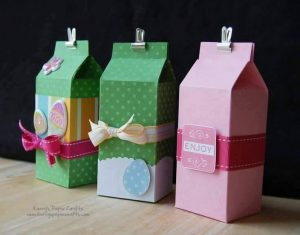 ıdeas for arts & crafts activities with empty milk cartons