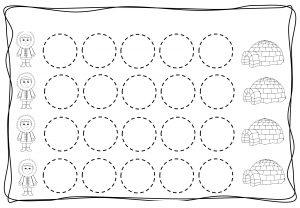 Circles tracing worksheets for kids (11)