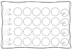 Circles tracing worksheets for kids (2)