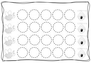 Circles tracing worksheets for kids (3)