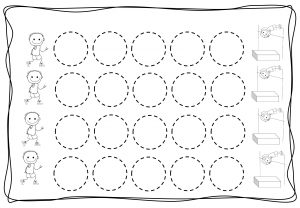 Circles tracing worksheets for kids (7)