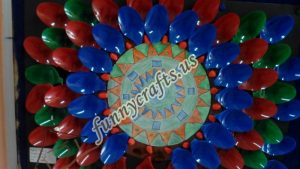 Plastic spoon mandala crafts (5)
