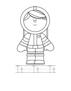 astronout letter coloring page (4)