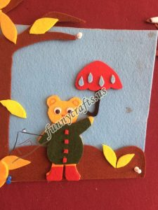 autumn felt craft