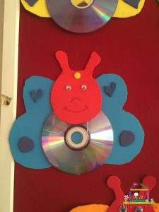 cd craft bulletin board  (2)