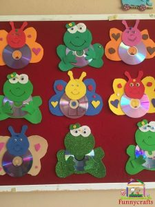 cd craft bulletin board  (6)