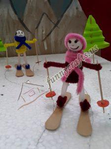 chenille snowboarder craft