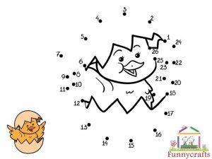 chick dot to dots sheet