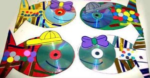 cool fish cd craft ideas