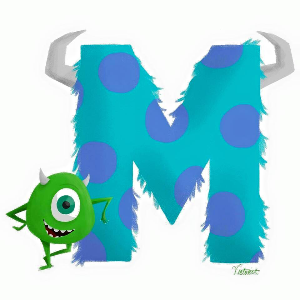 Disney Learning Alphabet 11 Funnycrafts