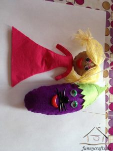 felt puppets craft ideas
