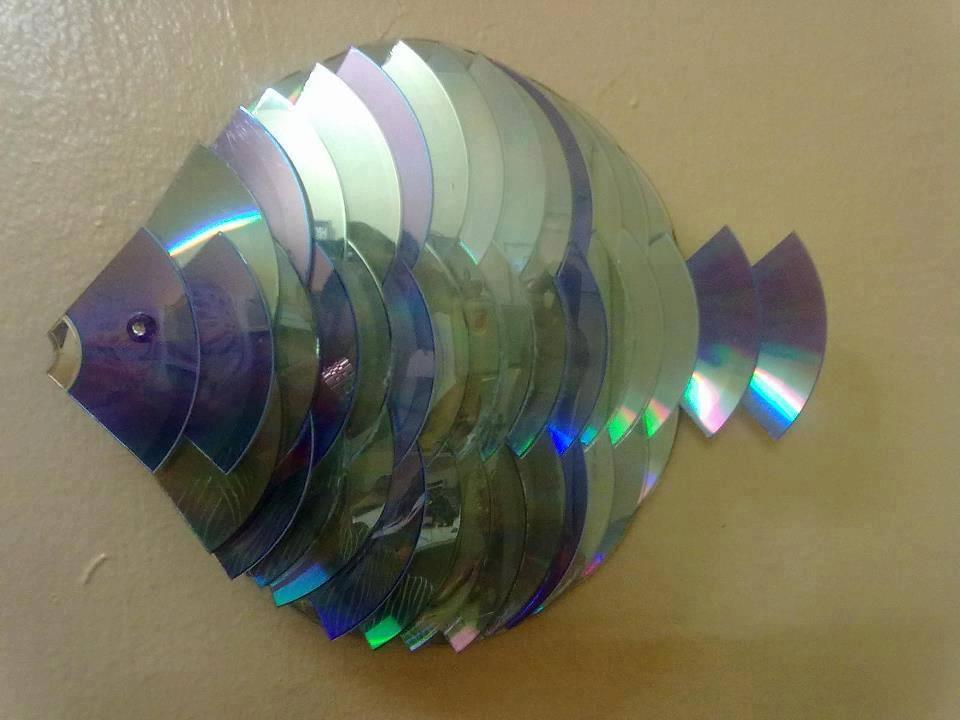 Fish Cd Craft Ideas Funnycrafts