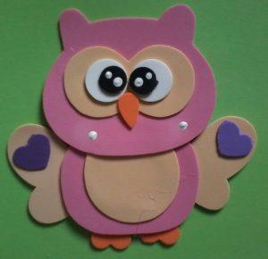 foam owl craft (4)