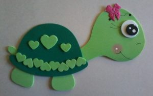 foam turtle craft