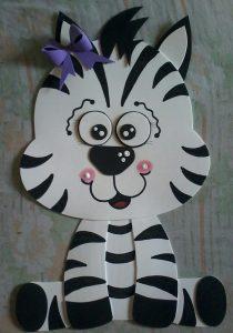 foam zebra craft (2)